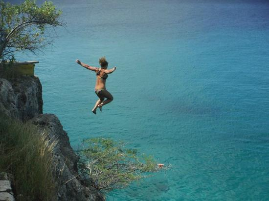 Jump From The Cliff......................AWESOME
