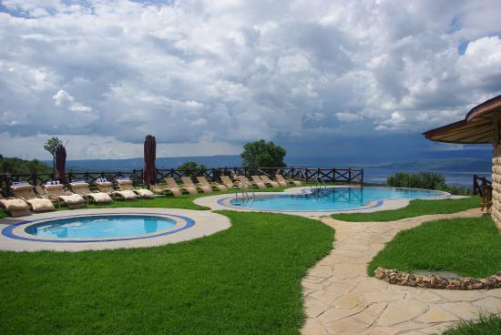 Pool With A View Picture Of Lake Nakuru Sopa Lodge Lake Nakuru National Park Tripadvisor