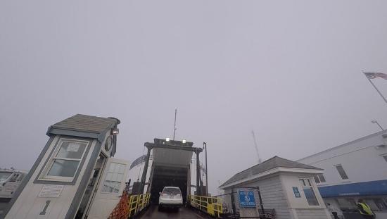 The Steamship Authority - Martha's Vineyard: Embarking the M/V Nantucket 5/11/15
