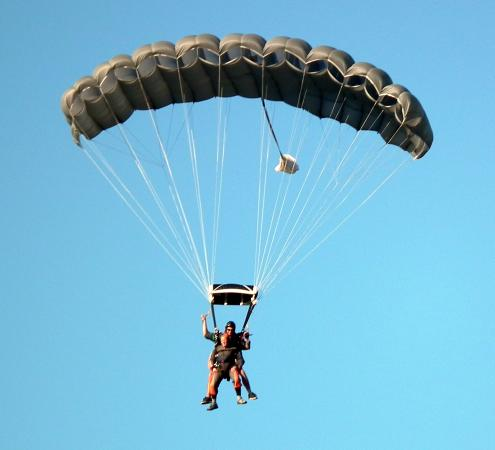 Skydive Ballistic Blondes Whangarei: My first jump and not scary