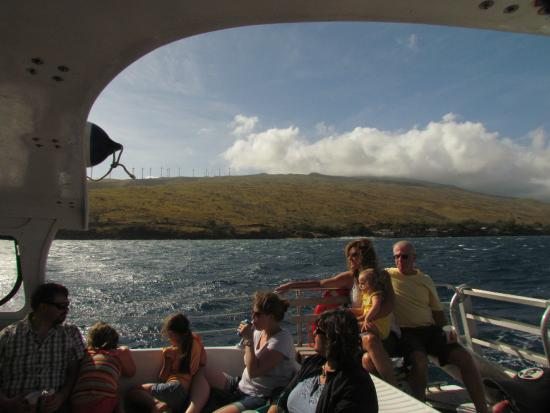 Frogman Whale Watch: On the boat, Frogman2