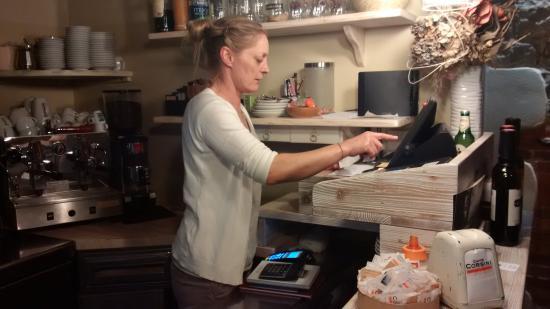 Le Forchette del Chianti: Sandra in sala