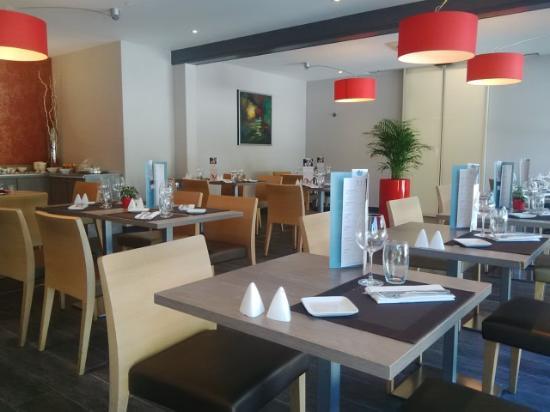 Mercure Strasbourg Airport: Un bref aperçu de la rénovation du restaurant