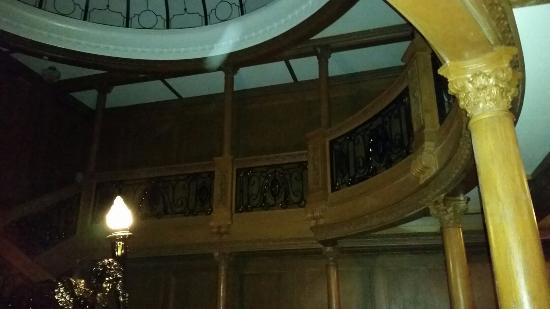 Numerous Orbs Seen At The Grand Staircase On The Very