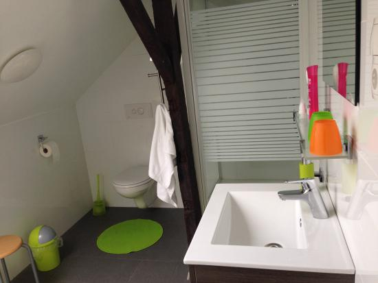 Guesthouse De Stadswal: Nice and clean bathroom