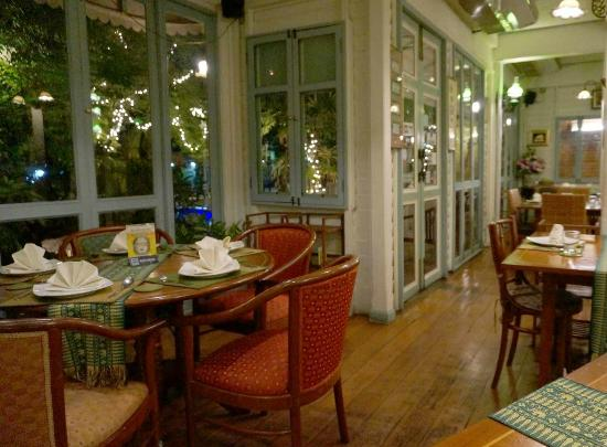 Cafe De Laos : The dining room. There is outside dining space, too.