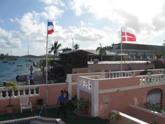 Hotel Caravelle on St. Croix : Udsigt fra værelse