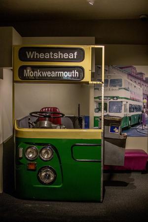 Monkwearmouth Station Museum: bus