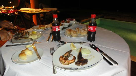 Sheraton Maldives Full Moon Resort & Spa: In villa dining