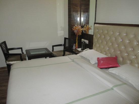 Hotel Delhi 55: ベッド