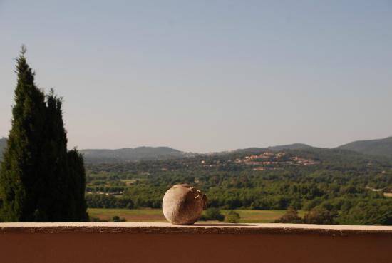 Mouramour : vue de la terrasse