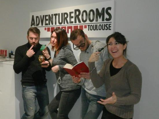 ‪AdventureRooms Toulouse‬