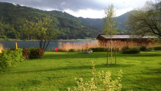 Seehotel Enzian: Suite Blick von unserer terasse