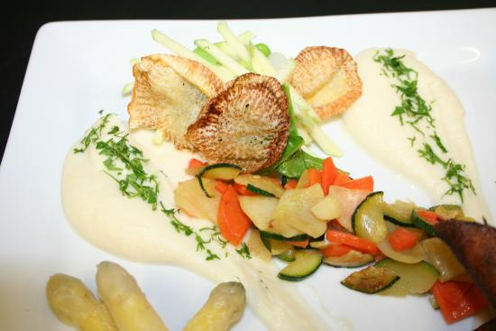 Hotel de France et d'Angleterre : Les Légumes