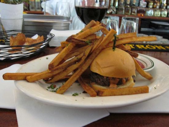 Wolfgang's Steakhouse: HAMBURGER SLIDER