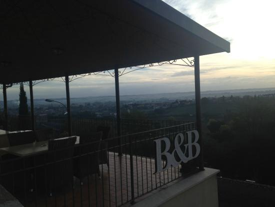 Il Convento B&B: Terrazza colazione