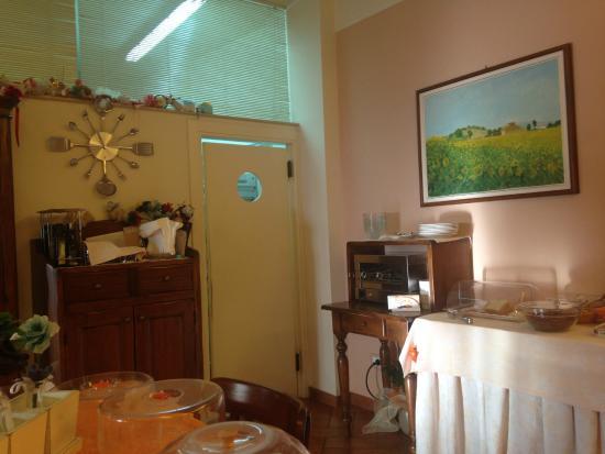 Il Convento B&B: Sala colazione