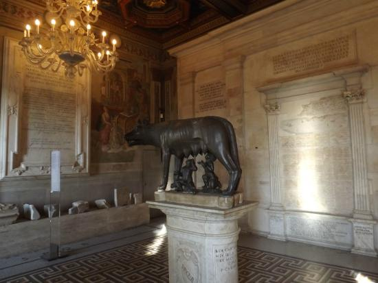 The Wolf with Romulus and Remus - Picture of Musei Capitolini, Rome ...
