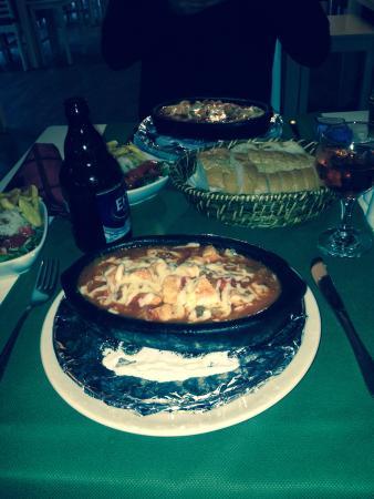 Lagoon Hotel: Chicken casserole, amazing meal