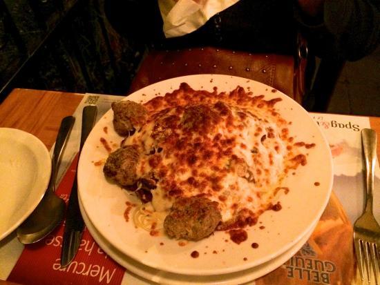 Spag & Tini : Spaghetti, boulettes de viande