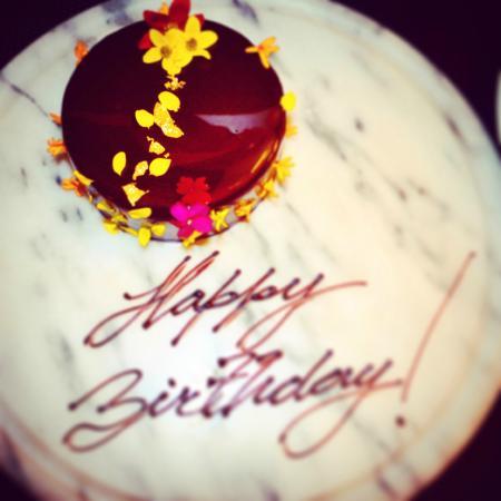 Miraculous My Birthday Cake Picture Of Como Metropolitan Miami Beach Funny Birthday Cards Online Alyptdamsfinfo