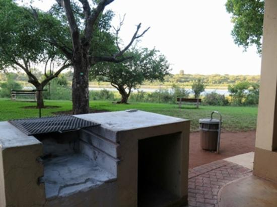 Lower Sabie Restcamp: View of the River