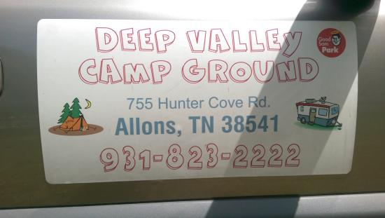 Deep Valley Campground: Give them a try!