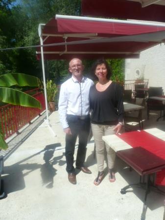 Le Moulin Fleuri: repas en amoureux