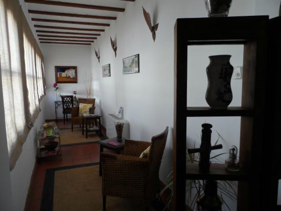Hosteria de Almagro Valdeolivo: Zona de lectura