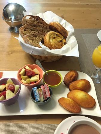 Domaine De Bellevue Cottage: Petit déjeuner