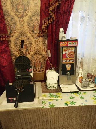 waffle making device opened picture of queen anne hotel san rh tripadvisor com sg