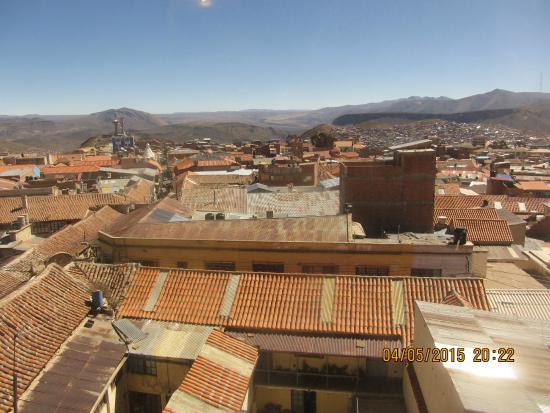 Hotel Coloso: Blick aus dem Fenster