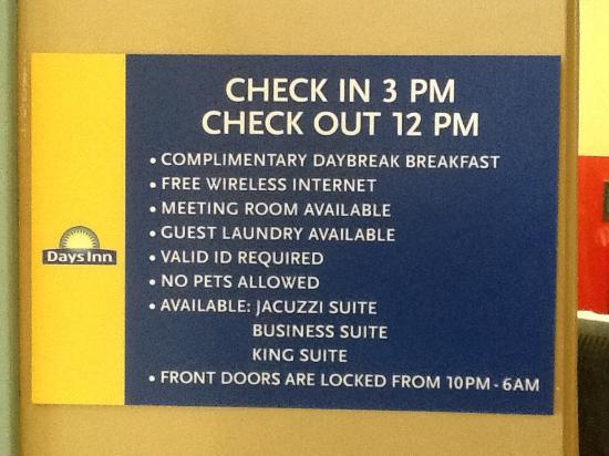 Days Inn Downtown St. Louis : Facilidades