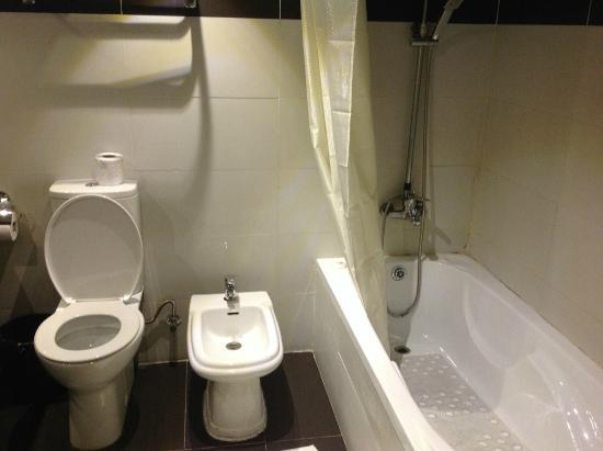 Hotel Presidential: Bathroom