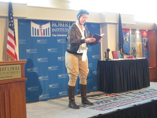 Robert J. Dole Institute of Politics: Dole Institute Program - Historical Interpreter