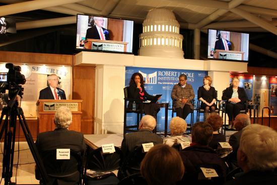 Robert J. Dole Institute of Politics: Dole Institute Program - Women in Leadership