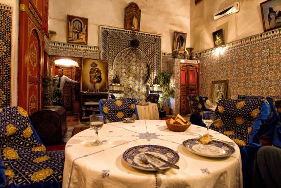 Dar Touria : belle restaurant