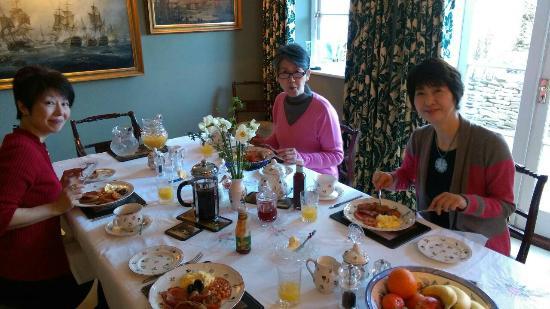 Fieldways: とても美味しい朝食