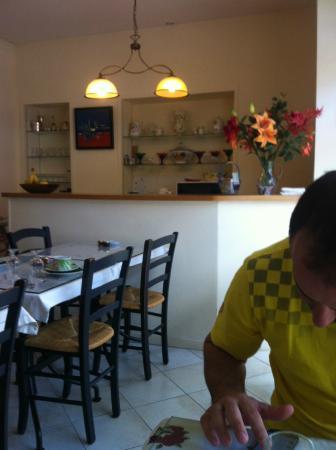 Hotel de La Cote Fleurie : Área de café