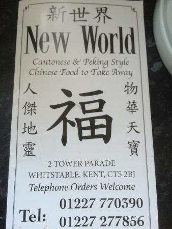 New World Chinese Takeaway