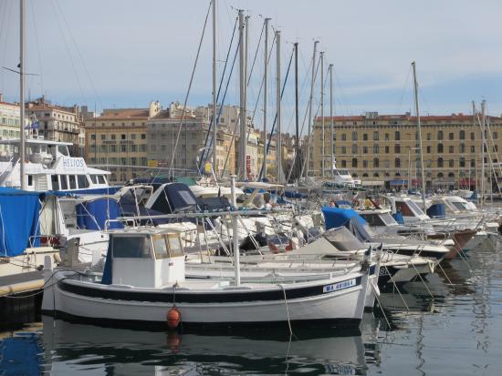 Grande roue de nuit photo de vieux port marseille - Promenade bateau marseille vieux port ...
