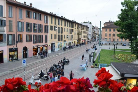Hotel Milano Navigli: vista dall'hotel
