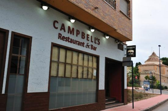 Campbells Restaurant & Bar: Campbell's Restaurant