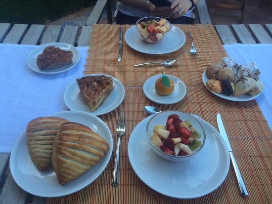 B & B Le Lumie: The breakfast