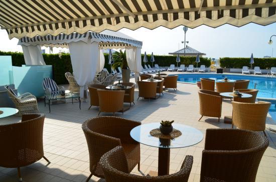 Hotel Delle Mimose: equipements de la piscine de qualité