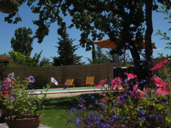 Puget-Ville, France: garden