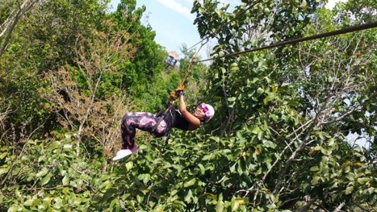 Ecoparque Cuzam: Zipline