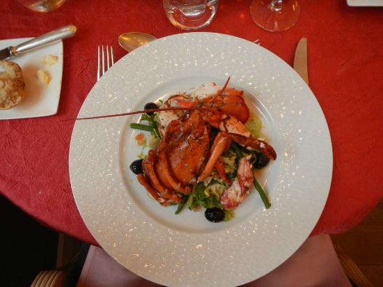 Les Petits Gobelins: Lobster salad