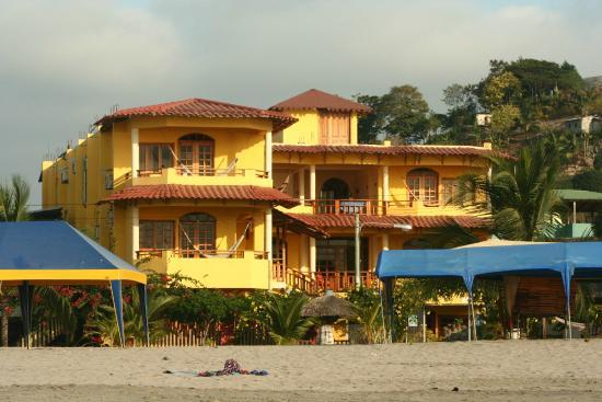 Hotel Cielo Azul Ubicación Del Desde La Playa