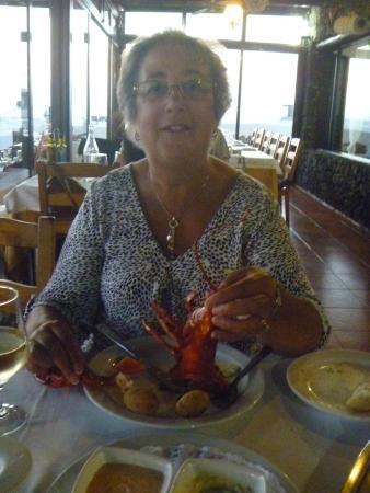 Casa Rafa Restaurante de Mar: Glo at Rafa's Restaurante de Mar, El Golfo
